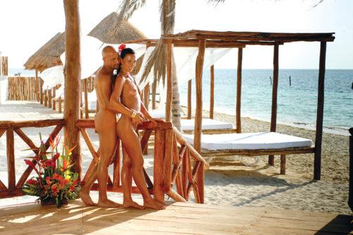 Desire Riviera Maya Resort Beach Area