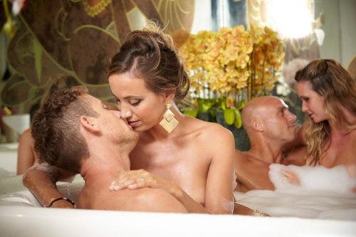 Desire Riviera Maya Resort Couples Kissing