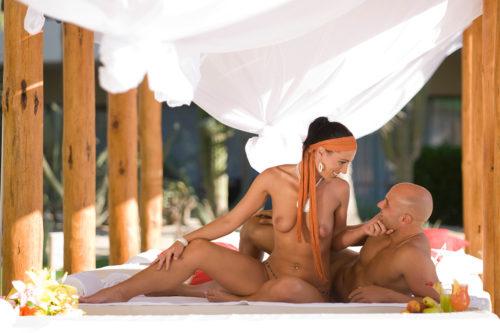 Desire Riviera Maya Resort Nude Couple