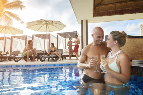Desire Riviera Maya Resort Pool Couple