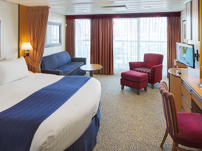 Temptation Caribbean Cruise | Junior Suite