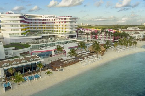 Temptation Cancun Resort | Aerial View