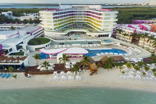Temptation Cancun Resort | Aerial View