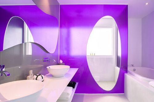 Temptation Cancun Resort | Oceanfront Master Suite Bathroom