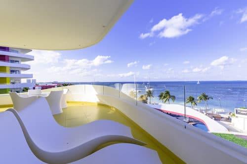 Temptation Cancun Resort | Oceanfront Master Suite Terrace