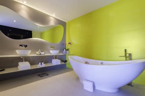 Temptation Cancun Resort | Oceanfront Penthouse Bathroom