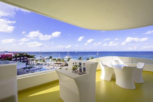 Temptation Cancun Resort | Oceanfront Penthouse Terrace