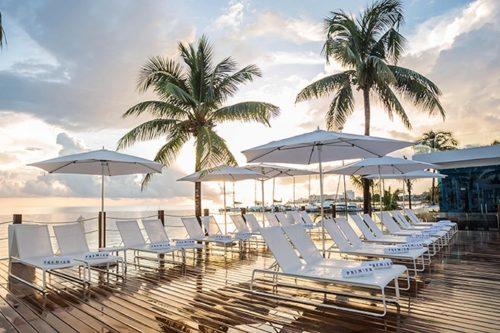 Temptation Cancun Resort | Premier Deck Beachbeds