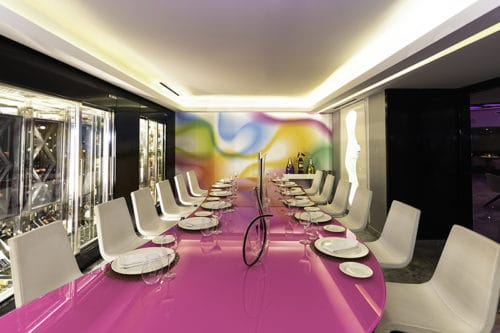 Temptation Cancun Resort | Italian Restaurant Wine Cellar