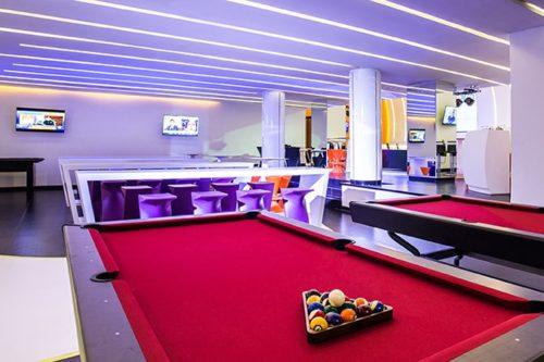 Temptation Cancun Resort | Score Sports Bar Pool Table