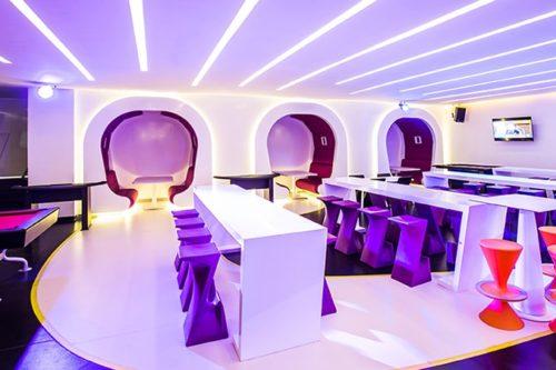 Temptation Cancun Resort | Score Sports Bar Seatings