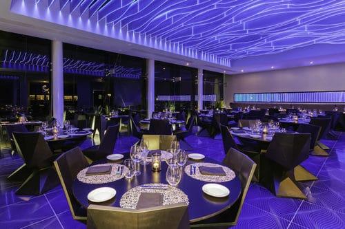 Temptation Cancun Resort | Sea Flirt Seafood Restaurant Dinner