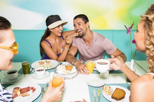 Temptation Cancun Resort | Rain International Buffet