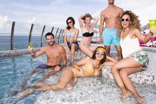 Temptation Cancun Resort | Sky Bar 3.5