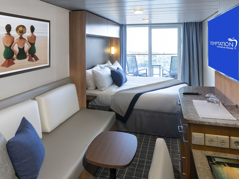 Temptation Caribbean Cruise | Concierge Class