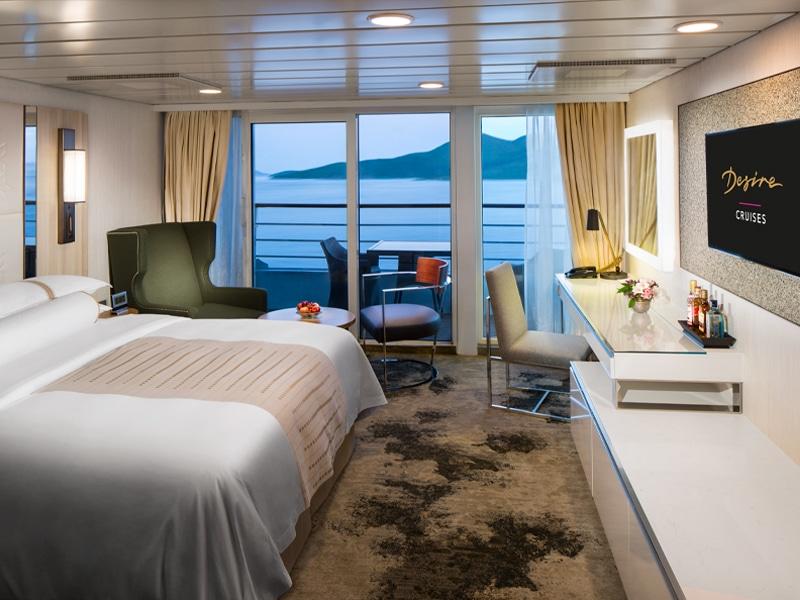 Desire Lisbon-Ibiza Cruise | Club Continent Suite