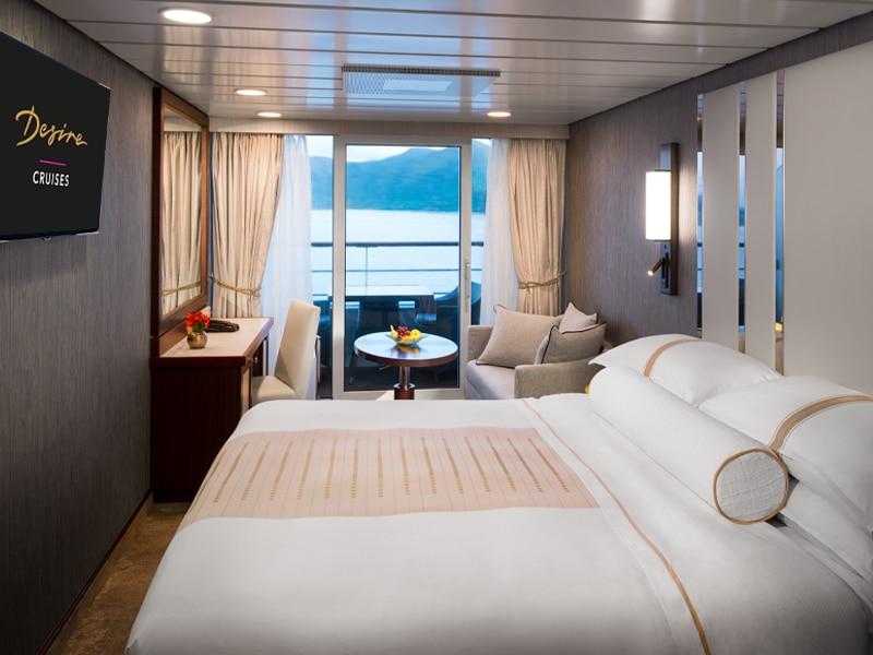 Desire Lisbon-Ibiza Cruise | Club Veranda Stateroom