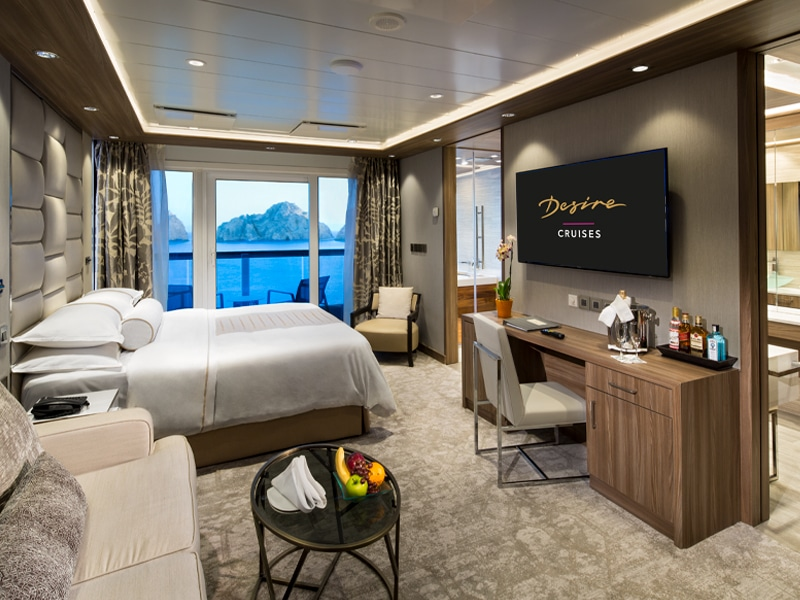 Desire Lisbon-Ibiza Cruise | Club Spa Suite