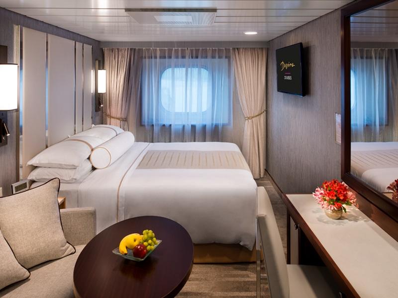 Desire Lisbon-Ibiza Cruise | Club Oceanview Stateroom