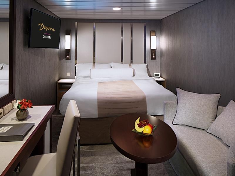 Desire Lisbon-Ibiza Cruise | Club Interior Stateroom