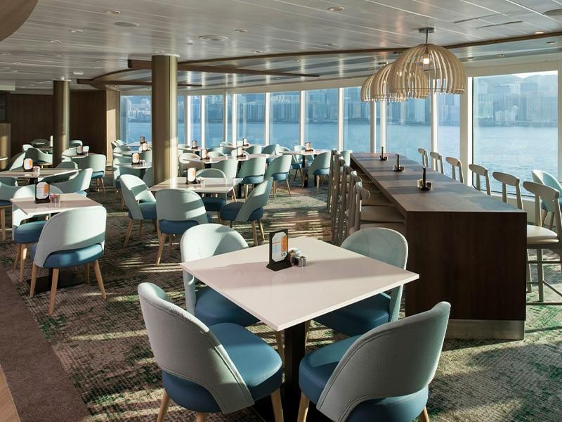 Temptation Caribbean Cruise | Oceanview Café