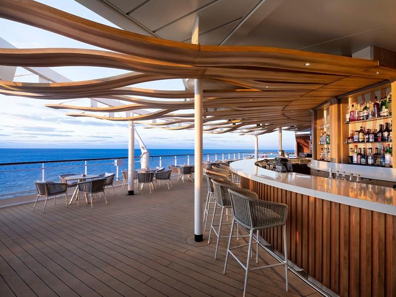 Temptation Caribbean Cruise | Sunset Bar