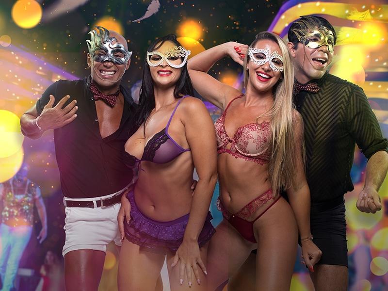 Temptation Cancun Resort | Lingerie Mascarade 2021 Theme Night