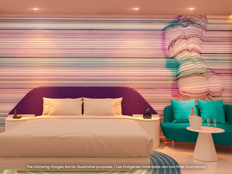 Temptation Miches Resort   Seduction Swim Up Tropical View