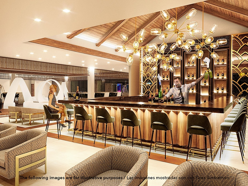Temptation Grand Miches Resort | Lobby Bar