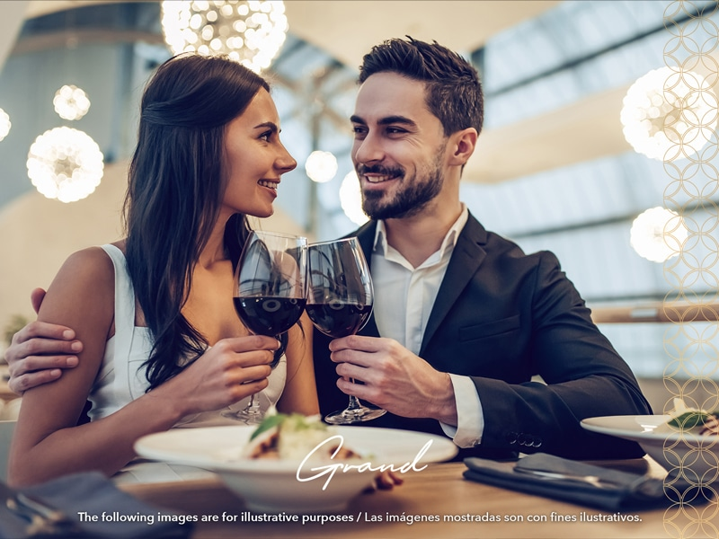 Temptation Grand Miches Resort | Romantic Dinner