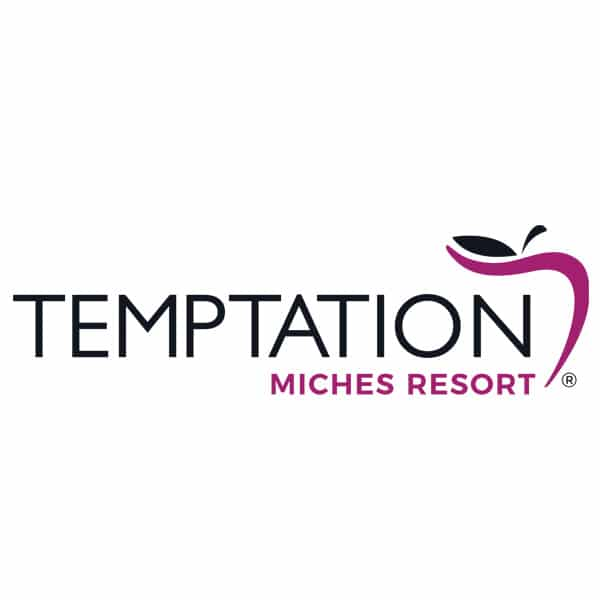 Temptation Miches Resort Logo
