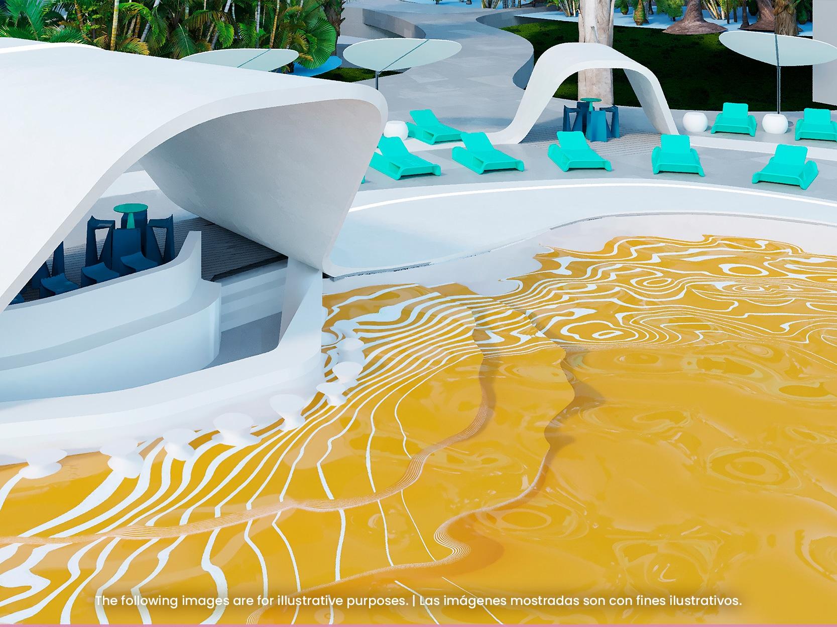 Temptation Miches Resort   Quiet Pool